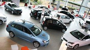 El precio de los coches nuevos subió en febrero.