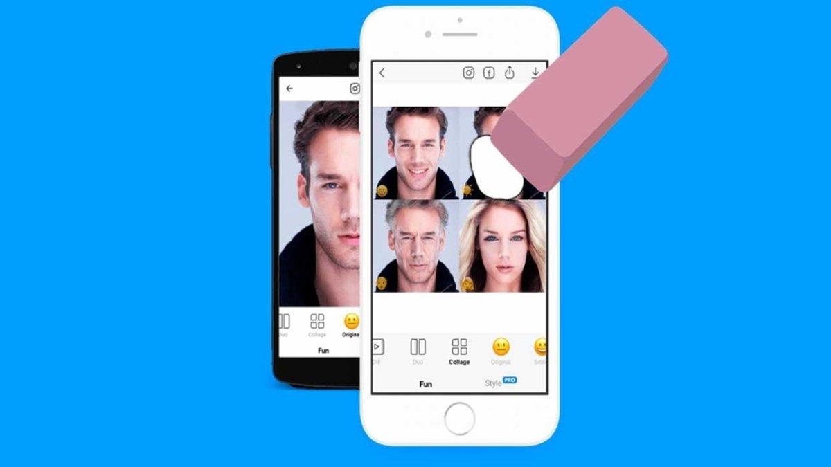 Como borrar tus imágenes de FaceApp para que no las guarden