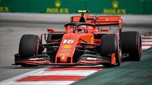 Leclerc ha sido uno de los más rápidos del fin de semana