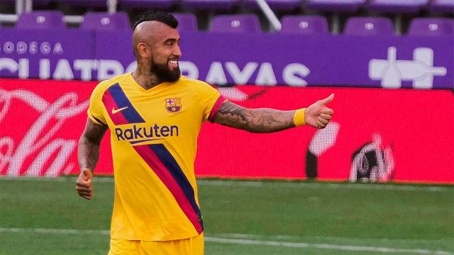 El 1x1 del Valladolid - Barça