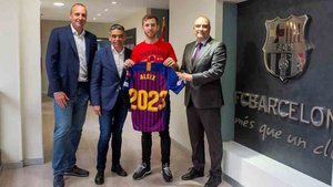 Aleix Gómez tiene el futuro garantizado en el Barça