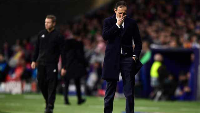 Allegri analiza la derrota y elogia al Atlético