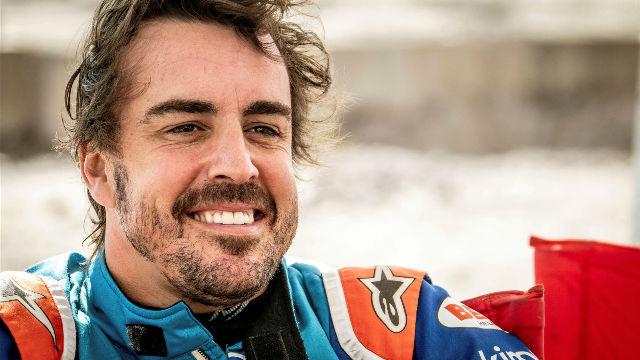 Alonso, satisfecho con su adaptación a las dunas de Namibia