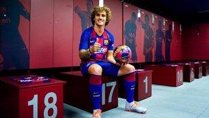 Antoine Griezamnn y el resto de jugadores participarán en el Netflix del Barça
