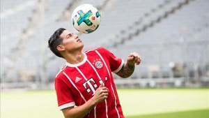 El Bayern ha agotado las camisetas con el 11 de James