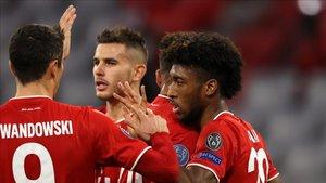 El Bayern no hizo prisioneros en área rival