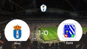 El Brea se impone por la mínima al CF Épila (1-0)