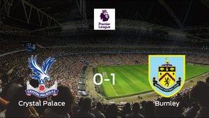 El Burnley se lleva los tres puntos frente al Crystal Palace (0-1)