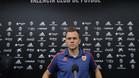 Cheryshev, en su primera rueda de prensa con el Valencia