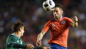 Chile derrotó 1-0 a México en amistoso