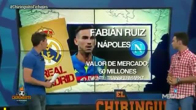 El Chiringuito destapa el interés del Real Madrid por Fabián