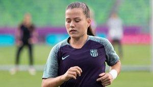 Claudia Pina quiere seguir en el Barça