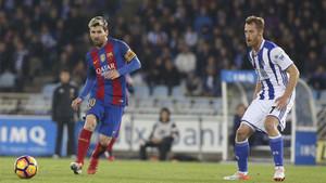 Con su gol, Messi evitó la derrota