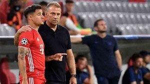 Coutinho juega cedido en el Bayern Munich