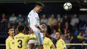 Cristiano firmó el 0-2 con este espectacular cabezazo