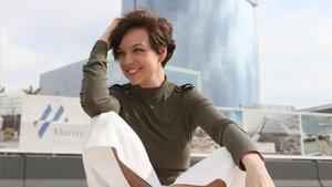 Cristina Villanueva, en Barcelona