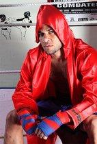 Dani Alves aceptó la invitación de SPORT y visitó el gimnasio KO Verdún, donde se vistió con el `look¿ completo de boxeador