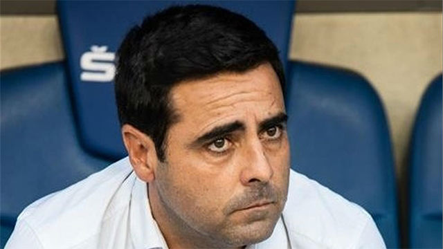 David Gallego, destituido como técnico del Espanyol