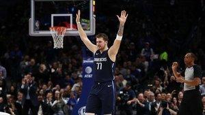 Doncic suma su primera nominaciòn de MVP de Noviembre en la NBA