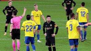 El equipo perdió la compostura en el Ramón de Carranza