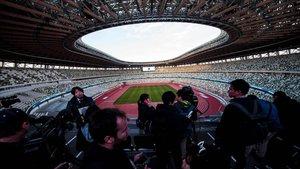 El estadio, abierto este domingo a la prensa