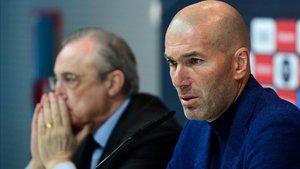 Florentino sabe que Zidane no será nada fácil de convencer