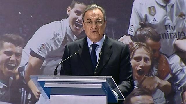 Florentino: Zidane es el mejor entrenador del mundo