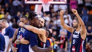 Francia logró la gesta de eliminar a Estados Unidos en los cuartos del Mundial de China