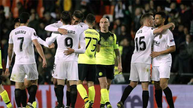Gameiro da la victoria al Valencia ante el Celtic