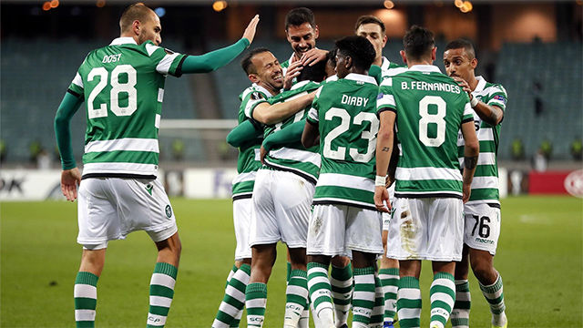 Goleada del Sporting de Lisboa al PSV