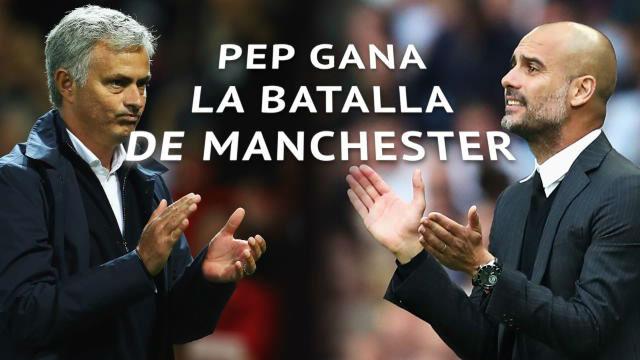 Guardiola gana La batalla de Manchester