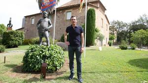 Guillermo Amor, exjugador del primer equipo del FC Barcelona entre 1988 y 1998