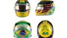 Hamilton homenajea a Senna con su casco