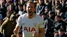 Harry Kane celebra el gol de la victoria ante el Crystal Palace