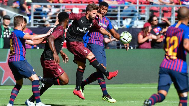 Si no has podido verlo, aquí tienes lo mejor del Milan-Barça