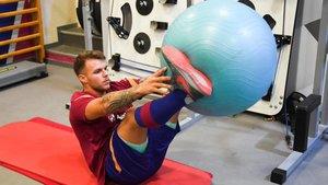 Helder Nunes se ha incorporado ya a los entrenamientos