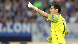 Iker Casillas está siendo titular indiscutible con el Oporto esta campaña
