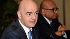 Infantino se encuentra en México para asistir al Congreso de la FIFA