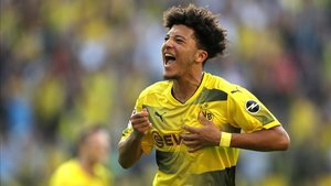Jadon Sancho ha explotado en la presente temporada con el Borussia Dortmund