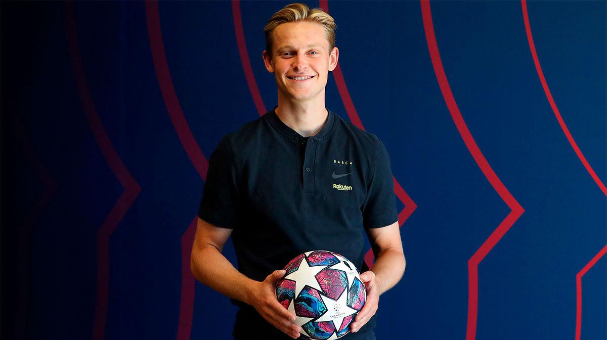 De Jong: Podemos ganar la Champions