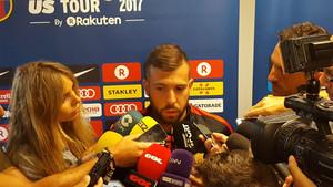 Jordi Alba aseguró que Neymar es feliz en el Barça