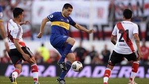 Juan Román Riquelme brindó declaraciones sobre la semifinal de la Copa Libertadores