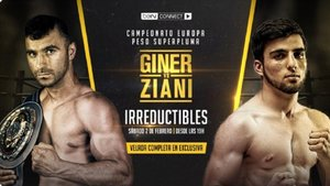 Juli Giner y Samir Ziani se juegan el europeo EBU superpluma