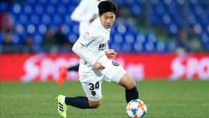 Kangin Lee podría estar en la órbita del Espanyol.