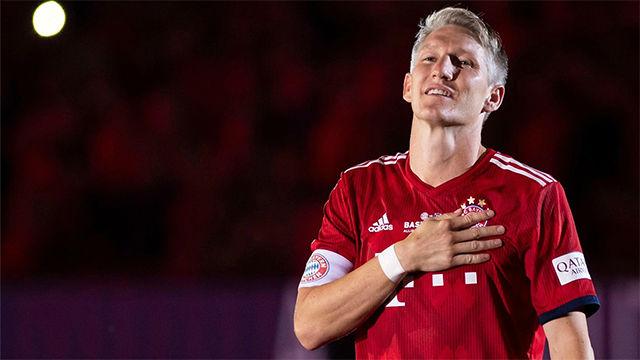 Löw se deshace en elogios para Schweinsteiger