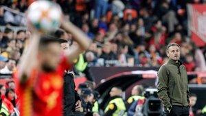 Luis Enrique sumó su primera victoria en la fase de grupos contra Noruega
