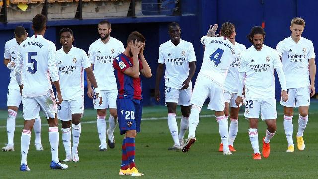 El Madrid no brilla pero sigue sin perdonar