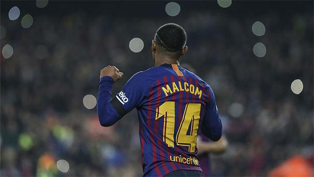 Malcom tuvo minutos ante el Leganés