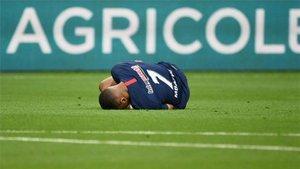 Mbappé, tres semanas de baja