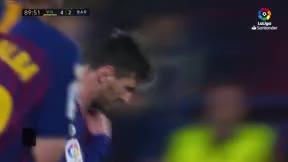 Messi encarriló la remontada con otro golazo de falta